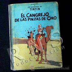 Cómics: CÓMIC TINTÍN - EL CANGREJO DE LAS PINZAS DE ORO - 2ª EDICIÓN AÑO 1966 - AVENTURA HERGÉ JUVENTUD. Lote 26810048