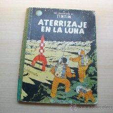Cómics: TINTÍN, ATERRIZAJE EN LA LUNA, TAPA DURA, LOMO DE TELA,AÑO 1967, 4ª EDICIÓN. Lote 37348157