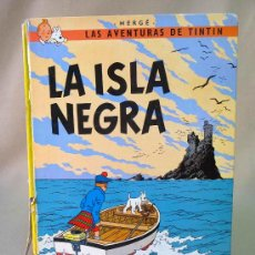 Cómics: TEBEO, COMIC, TINTIN, LA ISLA NEGRA, JUVENTUD, HERGÉ, 7º EDICION, 1981. Lote 27049696
