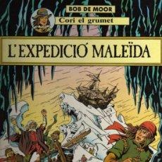 Cómics: CORI EL GRUMET - L'EXPEDICIÓ MALEÏDA - BOB DE MOOR - ED. JOVENTUT - EN CATALÁN. Lote 27673977