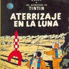 Cómics: LAS AVENTURAS DE TINTÍN . ATERRIZAJE EN LA LUNA / HERGÉ EDITORIAL JUVENTUD 1979 * CÓMIC *. Lote 27673621