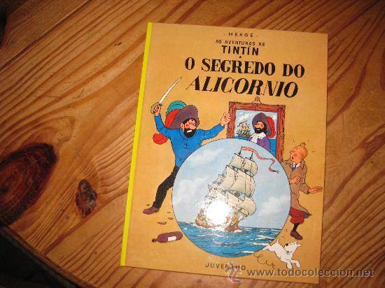 TINTIN GALLEGO EL SECRETO DEL UNICORNIO O SEGREDO DO ALICORNIO SEGUNDA EDICION (Tebeos y Comics - Juventud - Tintín)