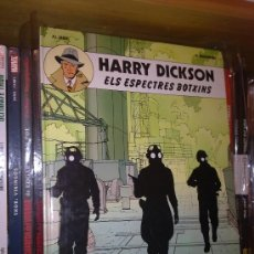 Cómics: HARRY DICKSON Nº 2 ELS ESPECTRES BOTXINS JOVENTUT 1ª EDICION 1990 CATALAN. Lote 27949390