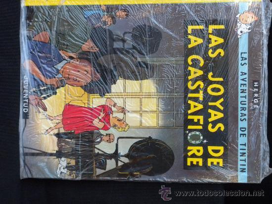 TINTIN: LAS JOYAS DE LA CASTAFIORE (JUVENTUD) NUEVO EN SU BOLSA IMPECABLE (Tebeos y Comics - Juventud - Tintín)