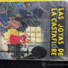 Cómics: TINTIN: LAS JOYAS DE LA CASTAFIORE (JUVENTUD) NUEVO EN SU BOLSA IMPECABLE. Lote 28169849
