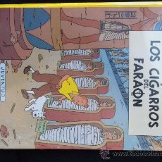 Cómics: TINTIN: LOS CIGARROS DEL FARAÓN (JUVENTUD) NUEVO EN SU BOLSA RETRACTILADO . Lote 28169903