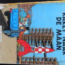 Cómics: TINTIN.IDIOMA : HOLANDES, RAKET NAAR DE MANN (CASTERMAN) 1953 . Lote 28169956