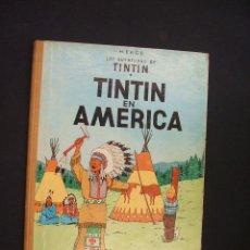 Cómics: TINTIN EN AMERICA - 2ª EDICION - 1969 - LOMO TELA - . Lote 28172646