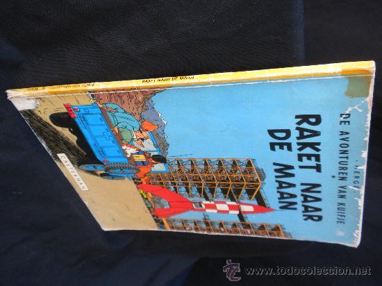 Cómics: TINTIN.IDIOMA : HOLANDES, RAKET NAAR DE MANN (CASTERMAN) 1953 - Foto 3 - 28169956