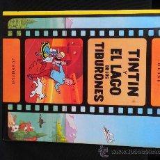 Cómics: TINTIN Y EL LAGO DE LOS TIBURONES (JUVENTUD) 8ªEDICION 1988. Lote 28187146