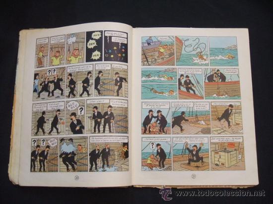 Cómics: LAS AVENTURAS DE TINTIN - LOS CIGARROS DEL FARAON - SEGUNDA (2ª) EDICION - LOMO TELA - - Foto 16 - 28969574