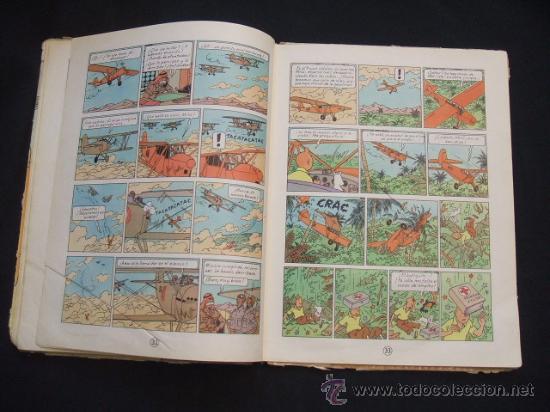 Cómics: LAS AVENTURAS DE TINTIN - LOS CIGARROS DEL FARAON - SEGUNDA (2ª) EDICION - LOMO TELA - - Foto 18 - 28969574