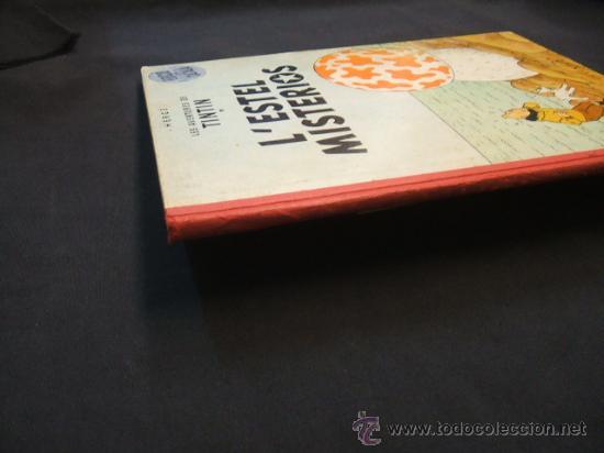 Cómics: LES AVENTURES DE TINTIN - LESTEL MISTERIOS - PRIMERA (1ª) EDICION - LOMO TELA - - Foto 4 - 28970235