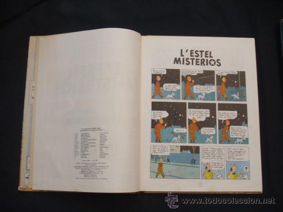 Cómics: LES AVENTURES DE TINTIN - LESTEL MISTERIOS - PRIMERA (1ª) EDICION - LOMO TELA - - Foto 10 - 28970235