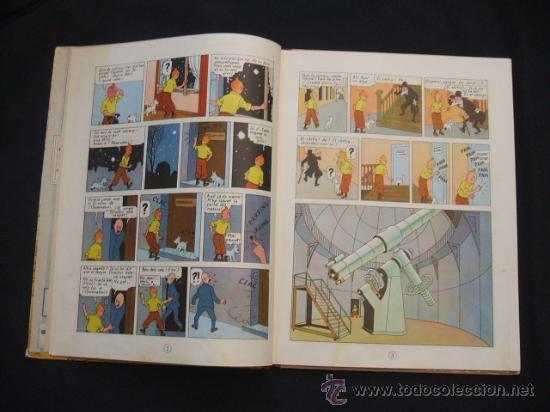 Cómics: LES AVENTURES DE TINTIN - LESTEL MISTERIOS - PRIMERA (1ª) EDICION - LOMO TELA - - Foto 12 - 28970235