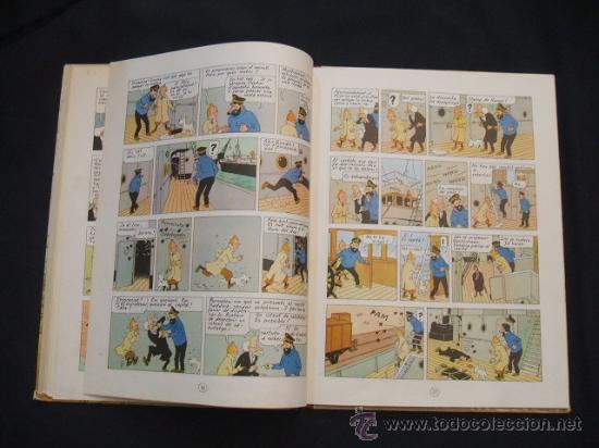Cómics: LES AVENTURES DE TINTIN - LESTEL MISTERIOS - PRIMERA (1ª) EDICION - LOMO TELA - - Foto 16 - 28970235