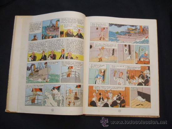 Cómics: LES AVENTURES DE TINTIN - LESTEL MISTERIOS - PRIMERA (1ª) EDICION - LOMO TELA - - Foto 18 - 28970235