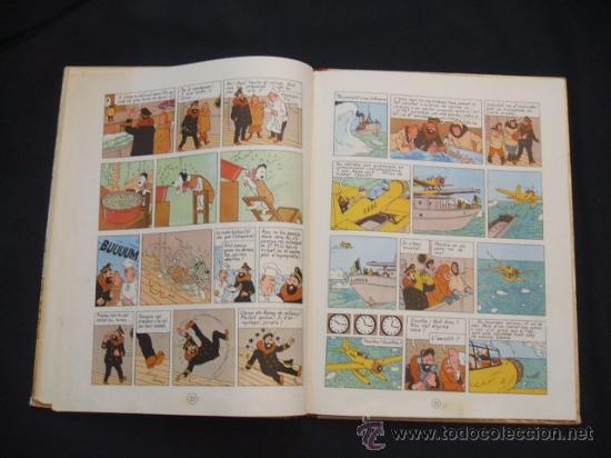 Cómics: LES AVENTURES DE TINTIN - LESTEL MISTERIOS - PRIMERA (1ª) EDICION - LOMO TELA - - Foto 19 - 28970235