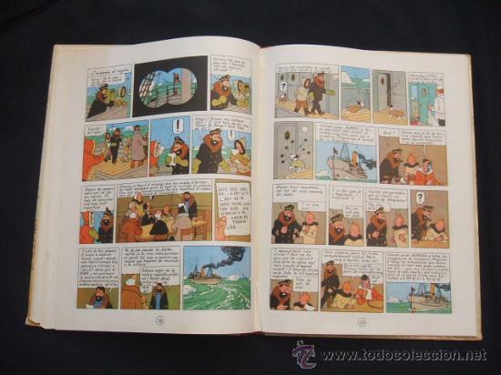 Cómics: LES AVENTURES DE TINTIN - LESTEL MISTERIOS - PRIMERA (1ª) EDICION - LOMO TELA - - Foto 20 - 28970235
