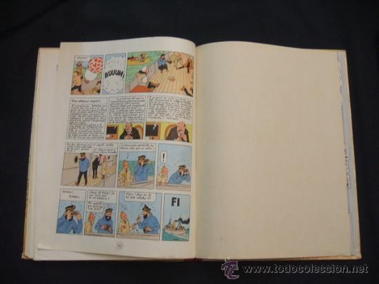 Cómics: LES AVENTURES DE TINTIN - LESTEL MISTERIOS - PRIMERA (1ª) EDICION - LOMO TELA - - Foto 26 - 28970235