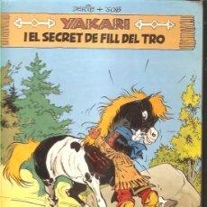 Comics : YAKARI I EL SECRET DE FILL DEL TRO - Nº 6 - 1ª ED.- 1981. Lote 29127169