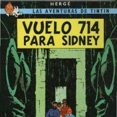 Cómics: TINTIN - VUELO 714 PARA SIDNEY.. Lote 29213963