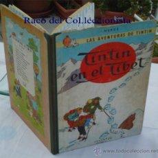 Cómics: TINTIN EN EL TIBET 1ª EDICION DICIEMBRE 1962. Lote 29335758
