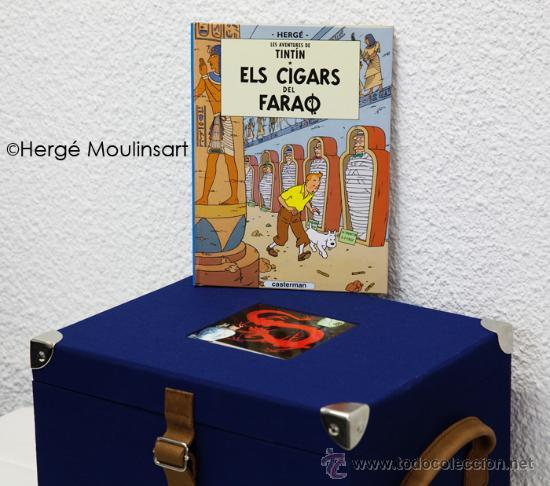 LES AVENTURES DE TINTÍN - EDICIÓ DEL CENTENARI - COFRE (CATALÀ) (Tebeos y Comics - Juventud - Tintín)