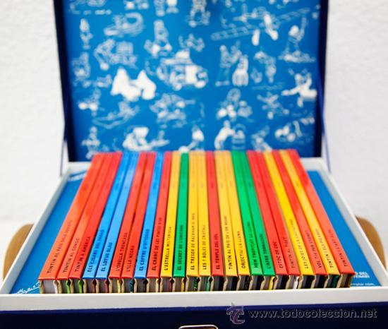 Cómics: Les Aventures de Tintín - Edició del Centenari - Cofre (Català) - Foto 2 - 53252139