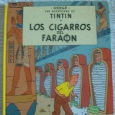 Cómics: TINTIN. LOS CIGARROS DEL FARAÓN. JUVENTUD. 9ª ED. 1985. Lote 29591764