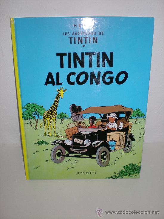TINTÍN 2. TINTÍN AL CONGO - JOVENTUT - EDICIÓ ACTUAL NUMERADA (CATALÀ) (Tebeos y Comics - Juventud - Tintín)
