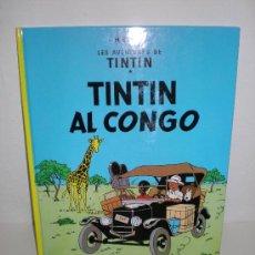 Cómics: TINTÍN 2. TINTÍN AL CONGO - JOVENTUT - EDICIÓ ACTUAL NUMERADA (CATALÀ). Lote 29598121