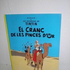 Cómics: TINTIN 9. EL CRANC DE LES PINCES D`OR - JOVENTUT - EDICIÓ ACTUAL NUMERADA (CATALÀ). Lote 29605644
