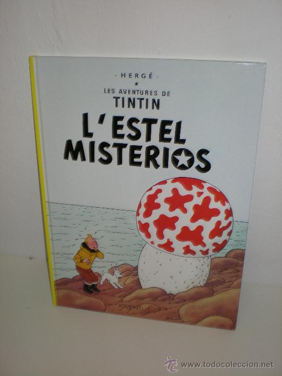 TINTIN 10. L`ESTEL MISTERIÓS - JOVENTUT - EDICIÓ ACTUAL NUMERADA (CATALÀ) (Tebeos y Comics - Juventud - Tintín)