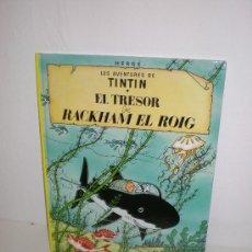Cómics: TINTIN 12. EL TRESOR DE RACKHAM EL ROIG - JOVENTUT - EDICIÓ ACTUAL NUMERADA (CATALÀ). Lote 29605658