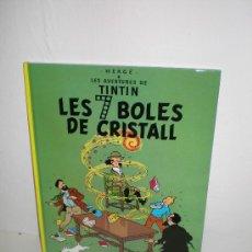 Cómics: TINTIN 13. LES 7 BOLES DE CRISTALL - JOVENTUT - EDICIÓ ACTUAL NUMERADA (CATALÀ). Lote 29605663