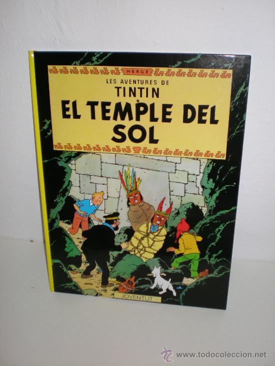 TINTIN 14. EL TEMPLE DEL SOL - JOVENTUT - EDICIÓ ACTUAL NUMERADA (CATALÀ) (Tebeos y Comics - Juventud - Tintín)