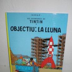 Cómics: TINTIN 16. OBJECTIU: LA LUNA - JOVENTUT - EDICIÓ ACTUAL NUMERADA (CATALÀ). Lote 29605695