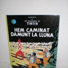 Cómics: TINTÍN 17. HEM CAMINAT DAMUNT LA LLUNA - JOVENTUT - EDICIÓ ACTUAL NUMERADA (CATALÀ). Lote 29605710
