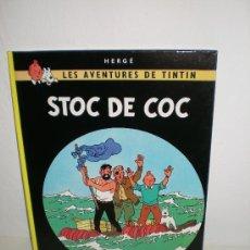 Cómics: TINTIN 19. STOC DE COC - JOVENTUT - EDICIÓ ACTUAL NUMERADA (CATALÀ). Lote 127209764