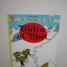 Cómics: TINTÍN 20. TINTIN AL TIBET - J0VENTUT - EDICIÓ ACTUAL NUMERADA (CATALÀ). Lote 29605742