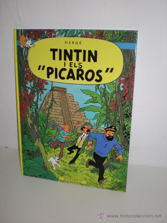 TINTÍN 23. TINTIN I ELS 'PICAROS'- JOVENTUT - EDICIÓ ACTUAL NUMERADA (CATALÀ) (Tebeos y Comics - Juventud - Tintín)