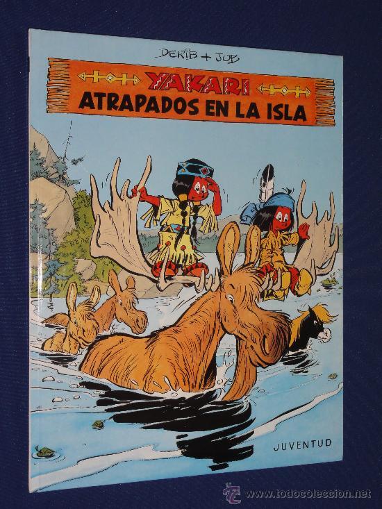 YAKARI Nº 9 - ATRAPADOS EN LA ISLA - DERIB Y JOB . EDITORIAL JUVENTUD, TAPA DURA. (Tebeos y Comics - Juventud - Yakary)