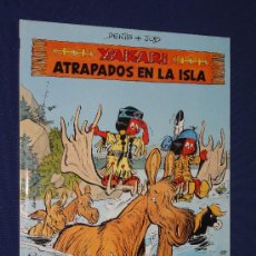 Cómics: YAKARI Nº 9 - ATRAPADOS EN LA ISLA - DERIB Y JOB . EDITORIAL JUVENTUD, TAPA DURA.. Lote 29710690