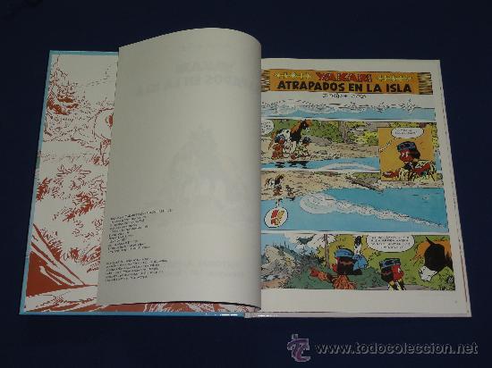Cómics: YAKARI Nº 9 - ATRAPADOS EN LA ISLA - DERIB Y JOB . EDITORIAL JUVENTUD, TAPA DURA. - Foto 3 - 29710690