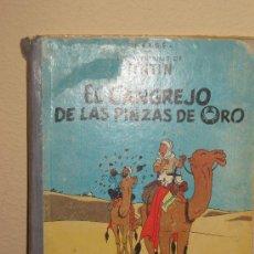 Cómics: TINTIN - EL CANGREJO DE LAS PINZAS DE ORO - TAPA ROTA Y DESPRENDIDA - 4ª EDICCION 1971. Lote 29889592
