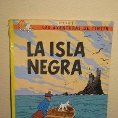 Cómics: TINTIN LA ISLA NEGRA - DECIMA EDICION 1986 . Lote 29890532