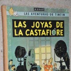 Cómics: TINTIN LAS JOYAS DE LA CASTAFIORE JUVENTUD LOMO TELA 3 EDICION 1968. Lote 29923126