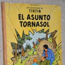 Cómics: TINTIN EL ASUNTO TORNASOL JUVENTUD LOMO TELA 4 EDICION 1972. Lote 29923211