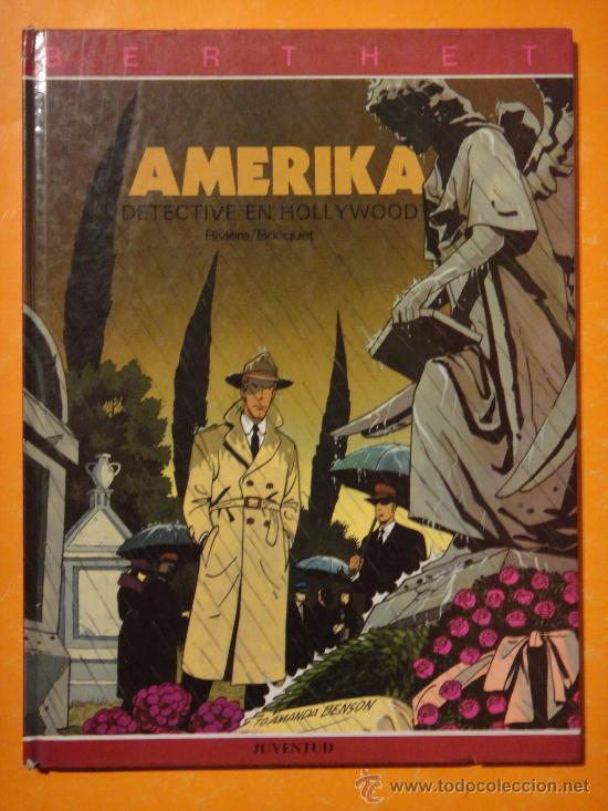 AMERIKA DETECTIVE EN HOLLYWOOD . POR BERTHET . JUVENTUD . DIFICIL ! (Tebeos y Comics - Juventud - Otros)